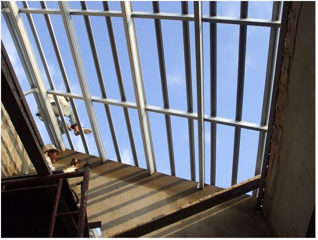 Mái nhà phố/ Thi công mái nhà phố