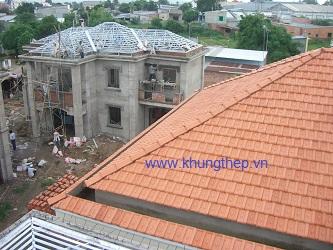 Mái nhà biệt thự