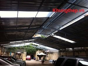 mái nhà xưởng