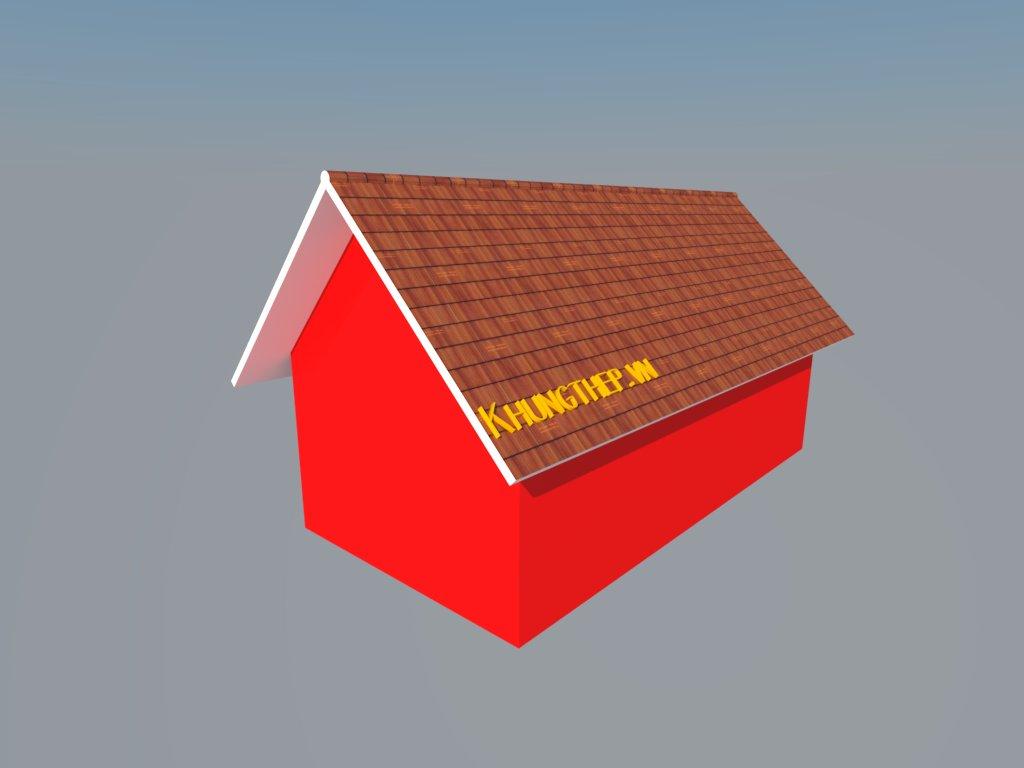 nhà 2 mái
