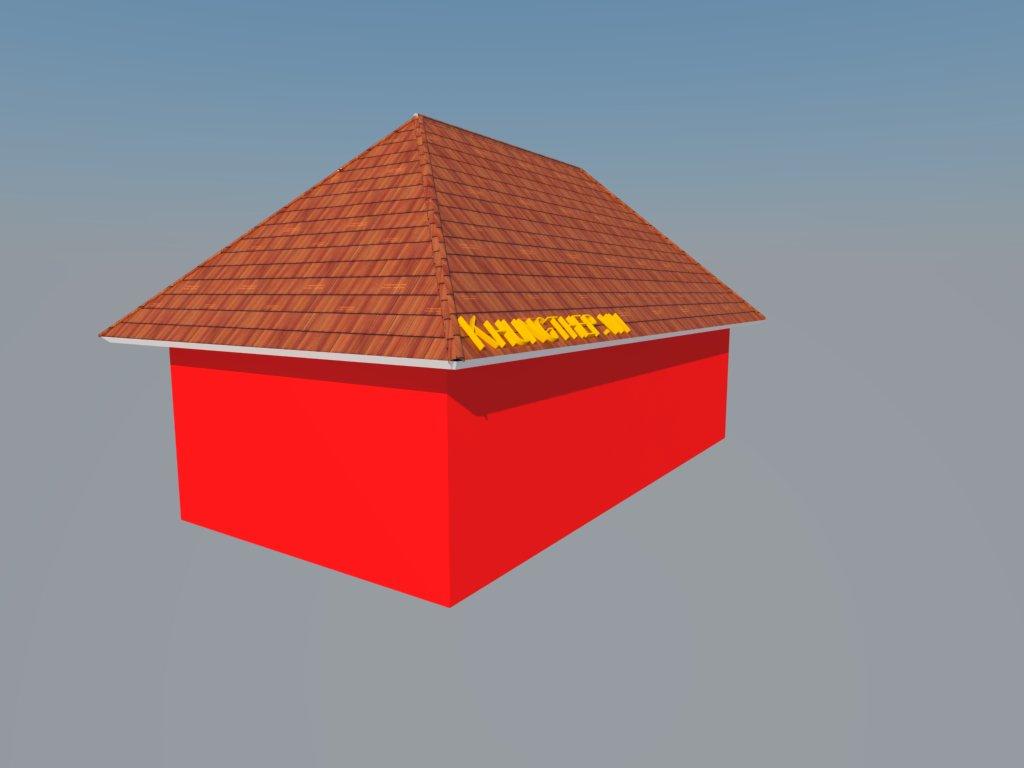 nhà 4 mái