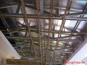 Thi công trần mái nhà